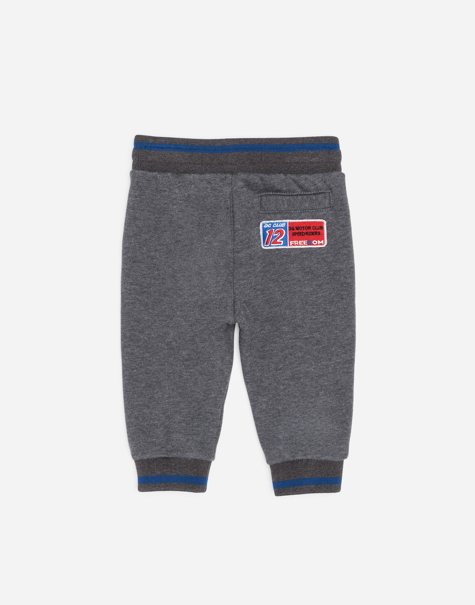 COTTON JOGGING PANTS WITH PATCH