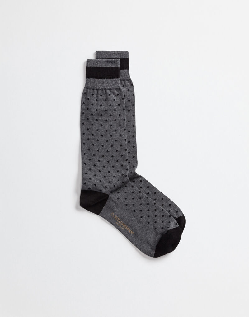 POLKA DOT COTTON SOCKS