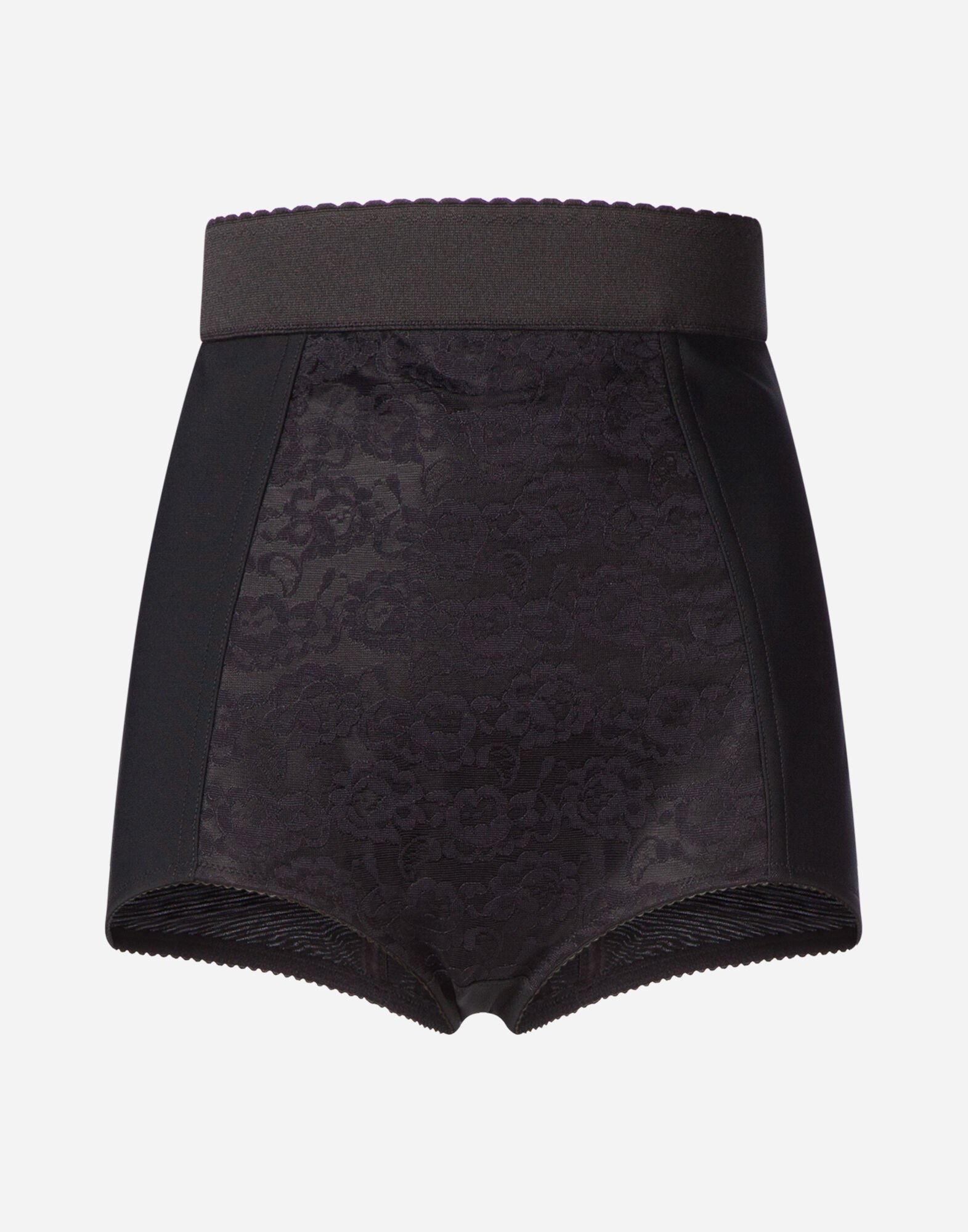 SHAPER PANTIES WITH LACE DETAILS