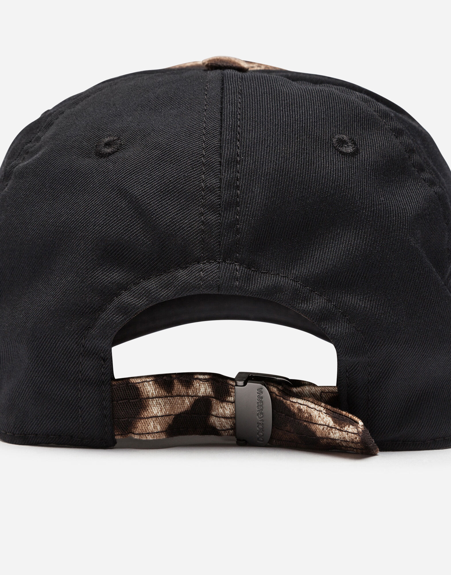 BASEBALL CAP IN CANVAS WITH LOGO