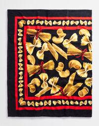 PRINTED COTTON BEACH TOWEL (45.5 X 73)
