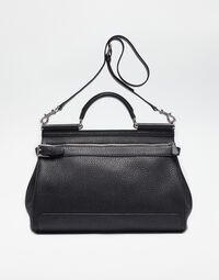 HANDHELD LEATHER SICILY BAG