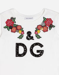 COTTON T-SHIRT WITH APPLIQUÉ