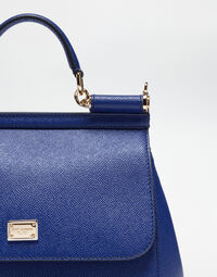 Dolce&Gabbana MEDIUM SICILY HANDBAG IN DAUPHINE LEATHER