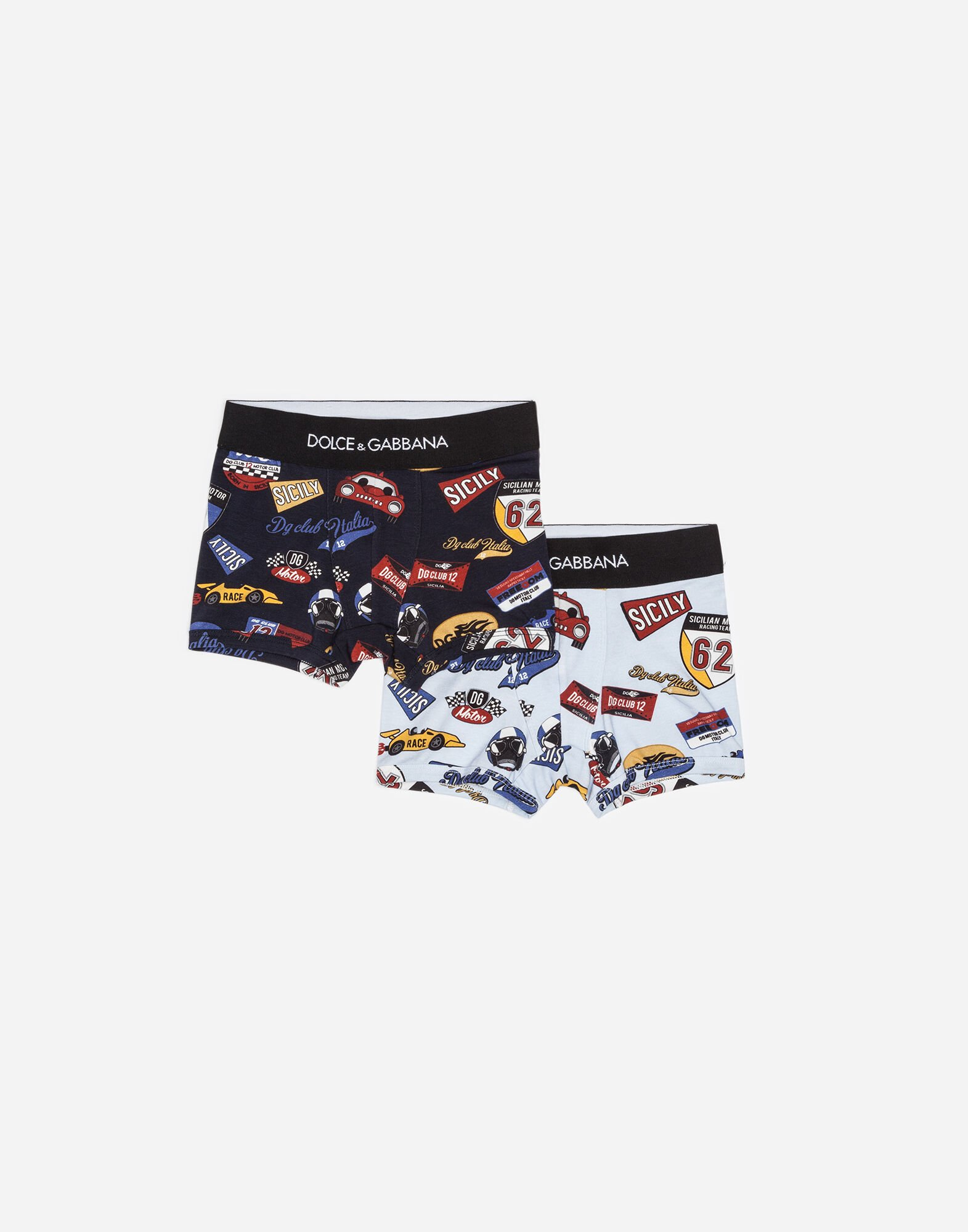 BOXERS IN PRINTED COTTON