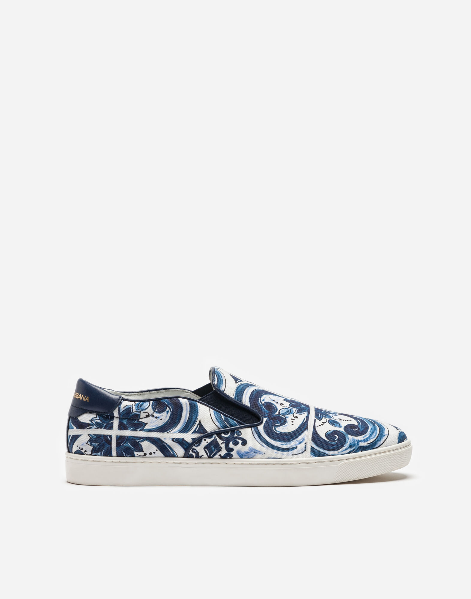 LONDON SNEAKERS IN PRINTED CANVAS