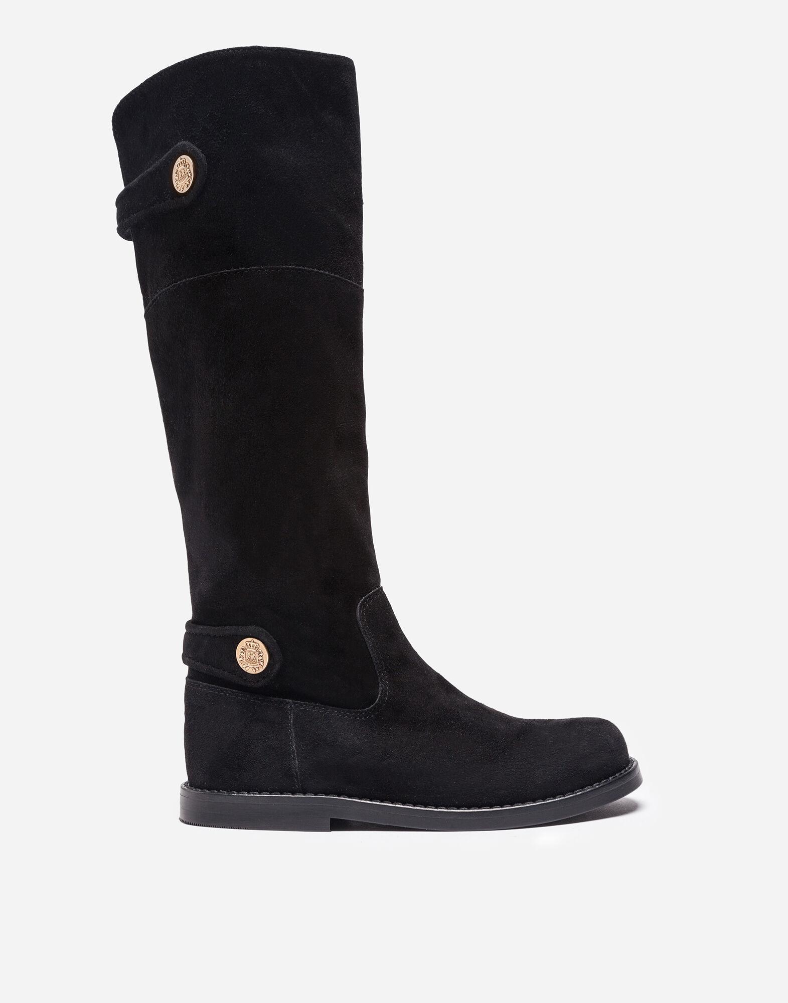 Dolce&Gabbana SUEDE BOOTS