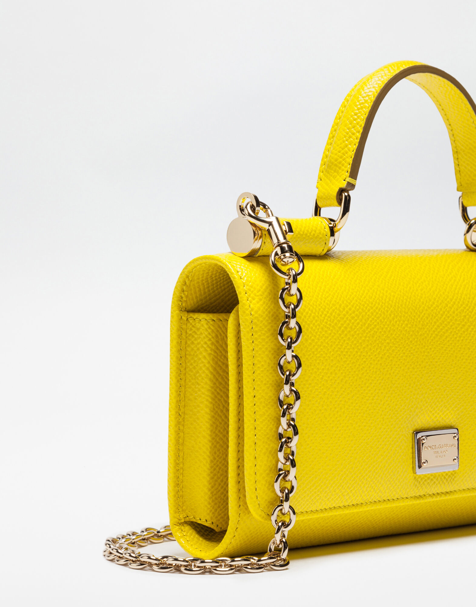 DAUPHINE LEATHER MINI VON BAG