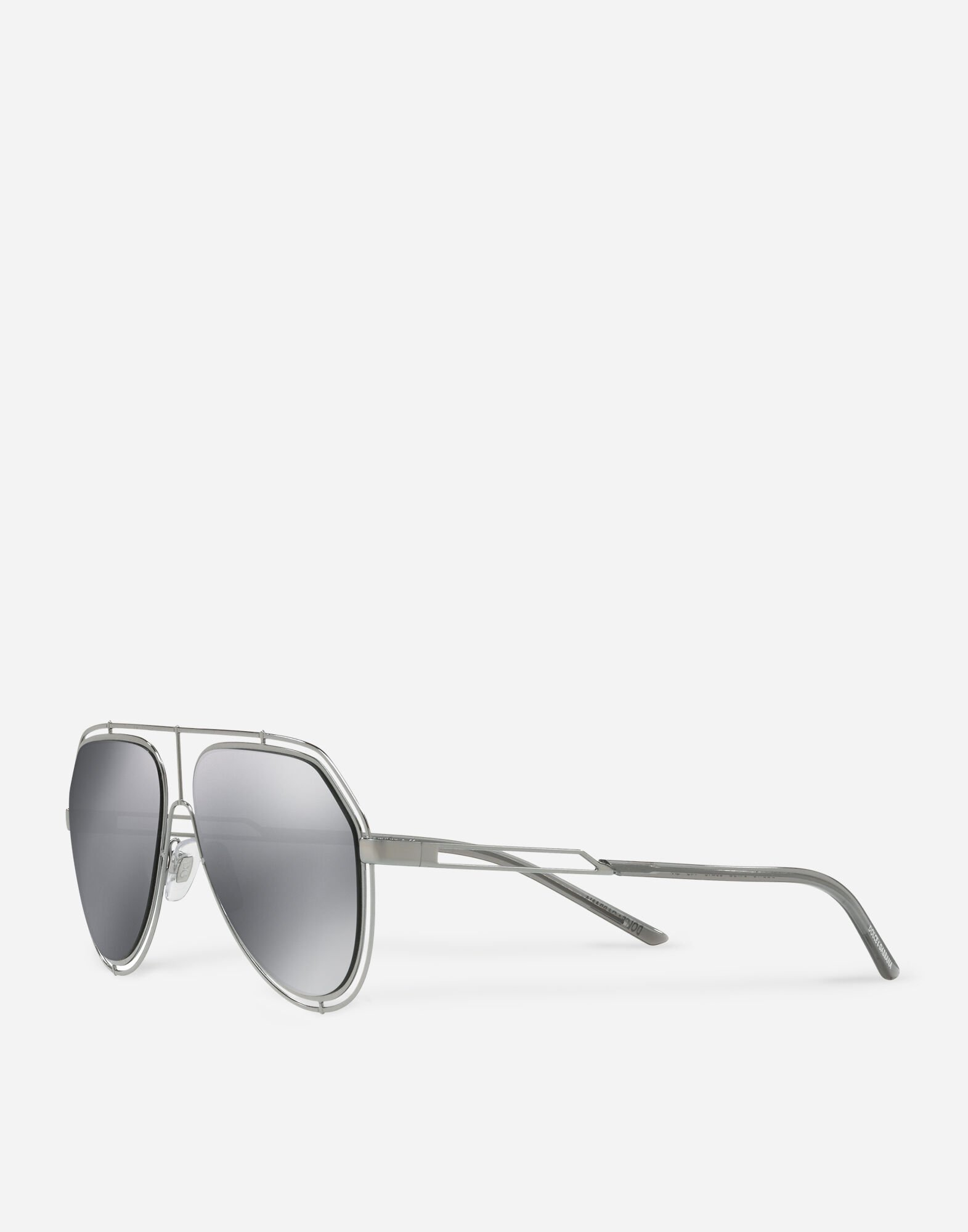 AVIATOR SUNGLASSES WITH METAL RIMS
