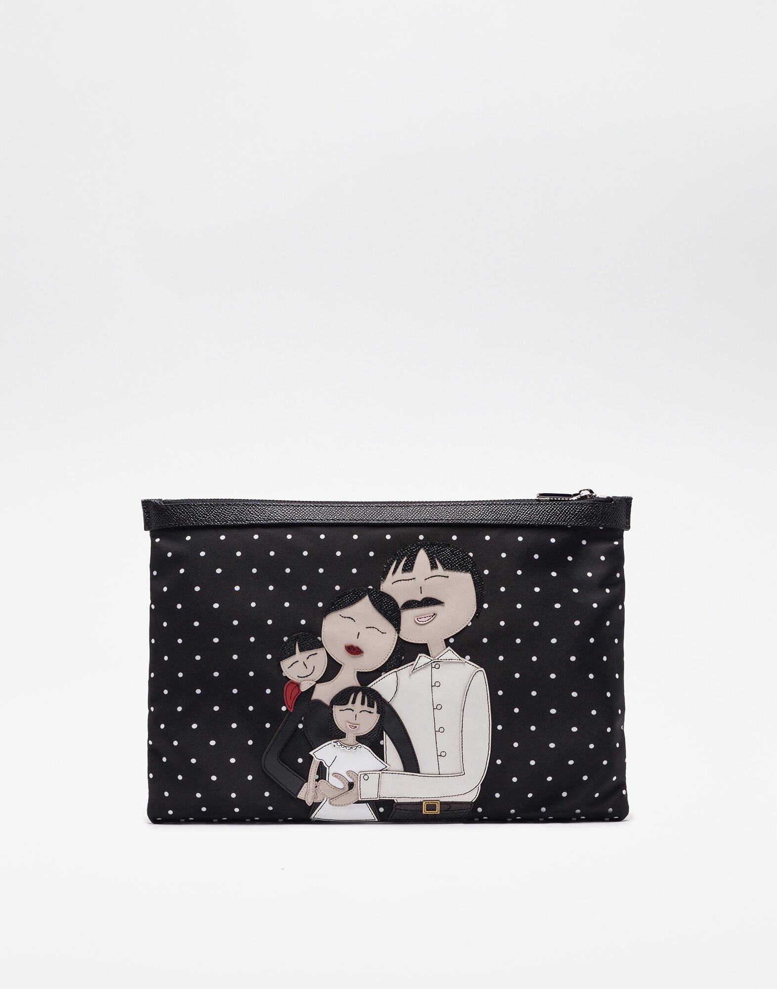 DOCUMENT HOLDER IN NYLON WITH DG Family PATCH