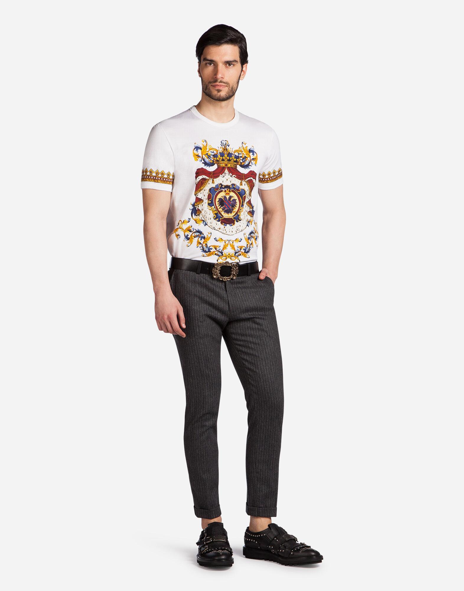 Dolce&Gabbana WOOL PINSTRIPE PANTS