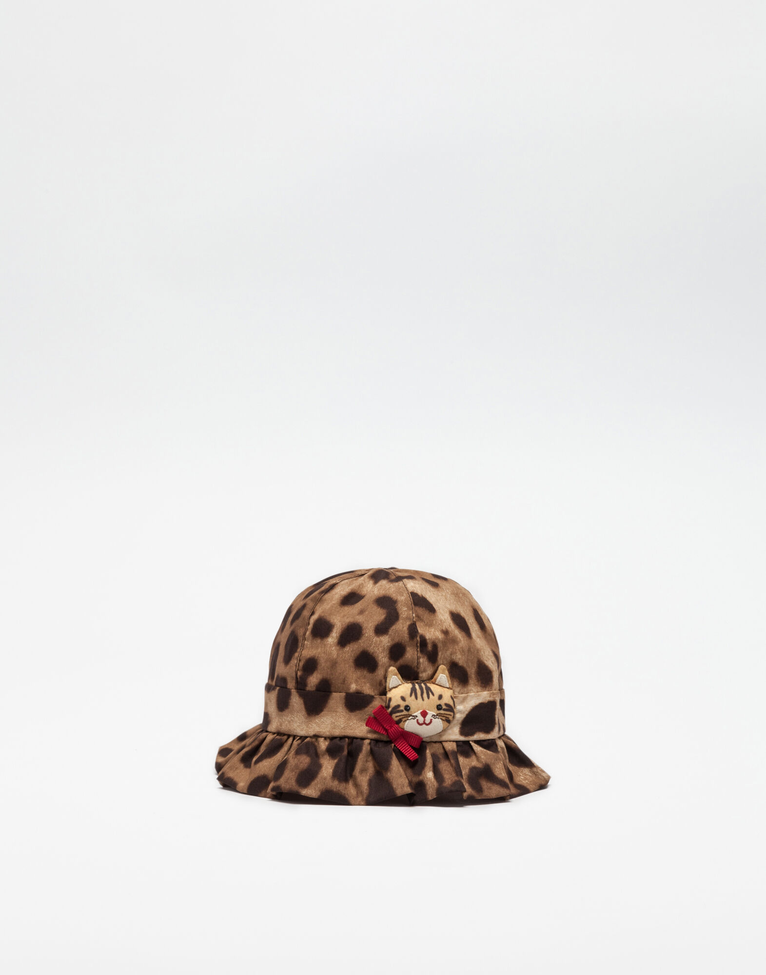 PRINTED COTTON POPLIN HAT
