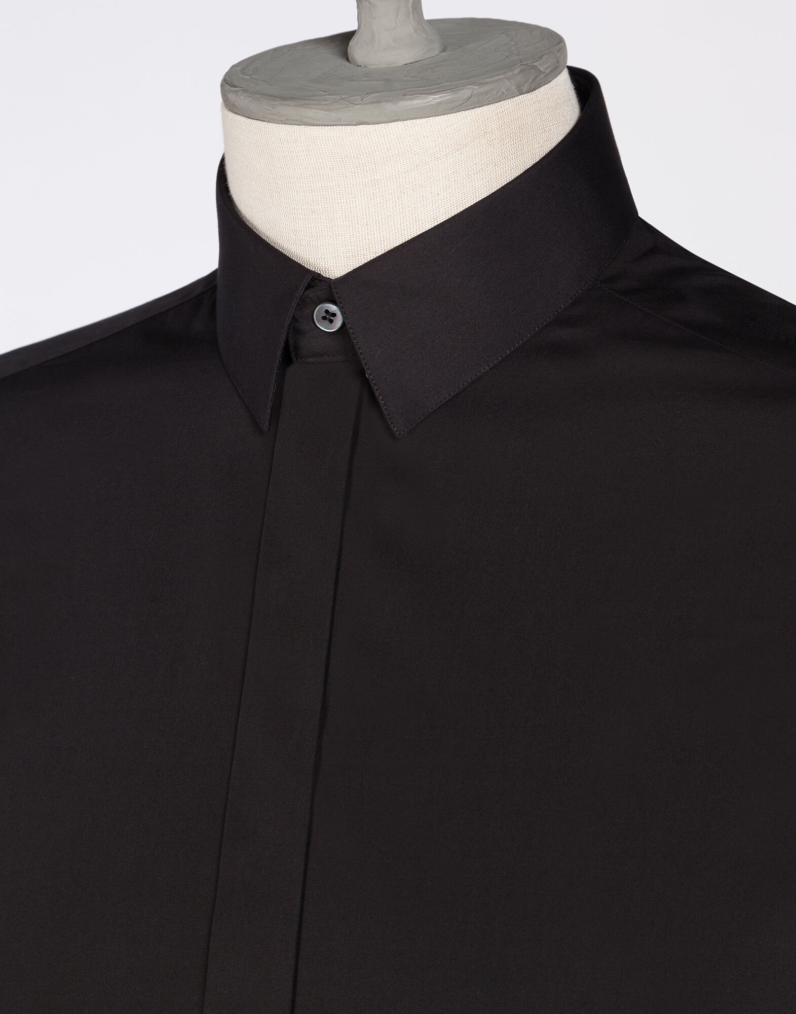 SHORT SLEEVE POPLIN COTTON SHIRT