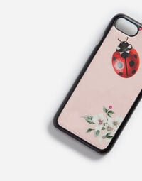 IPHONE 7 COVER IN PRINTED PATENT LEATHER