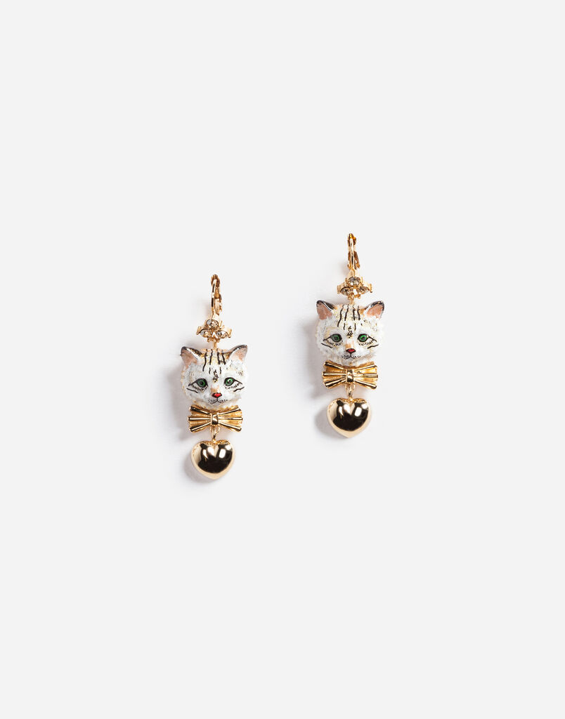 DROP EARRINGS WITH DECORATIVE DETAILS