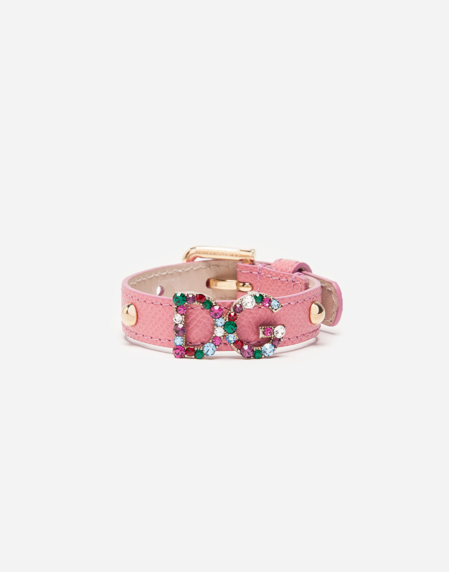 LEATHER BRACELET WITH PATCH