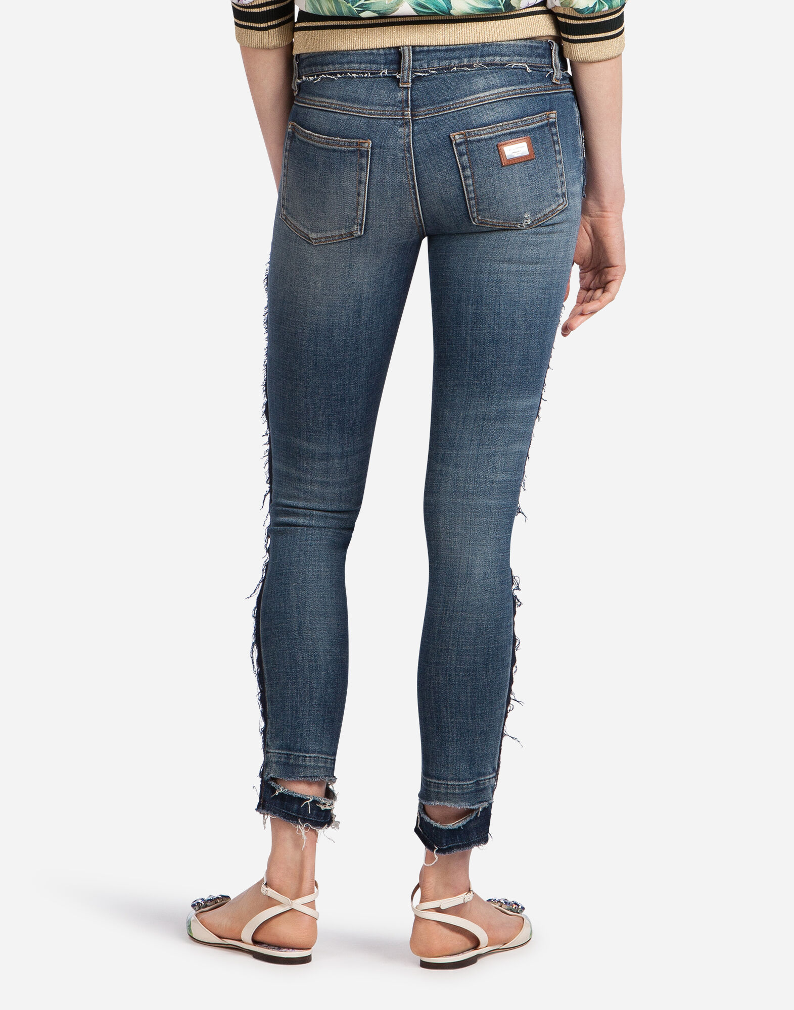 SKINNY STRETCH DENIM JEANS