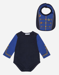 BODYSUIT AND BIB SET