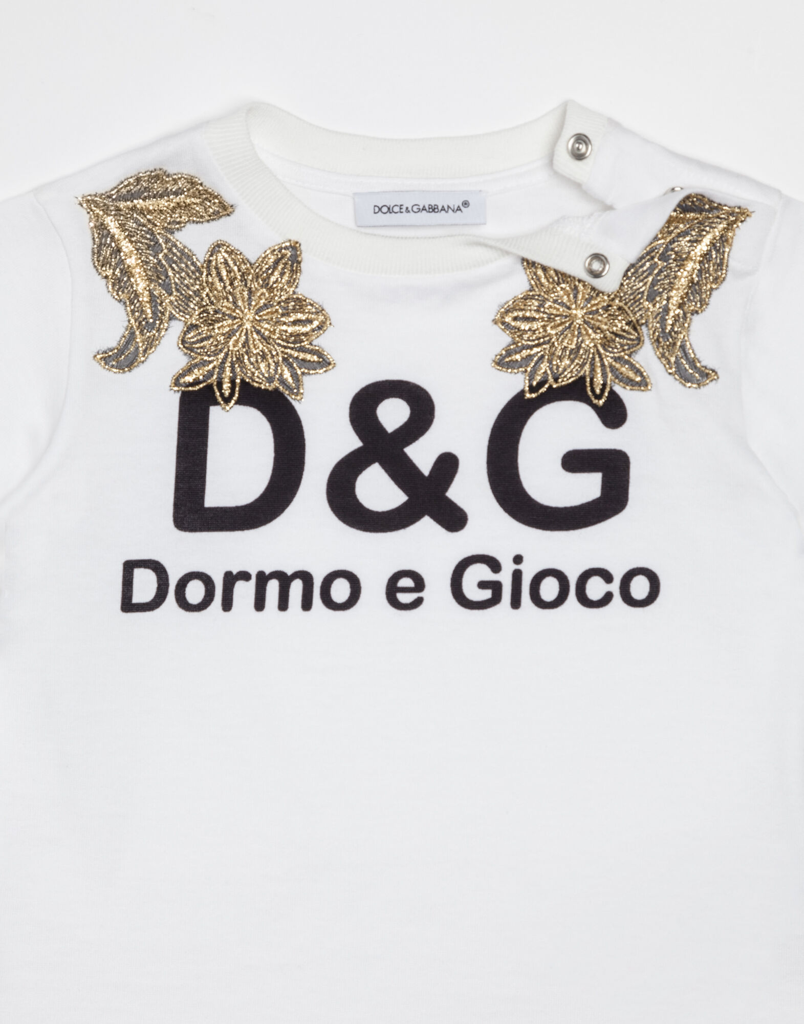 T-SHIRT WITH DOLCE&GABBANA PRINT