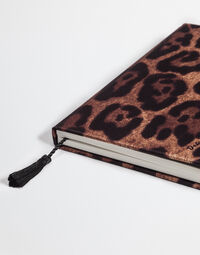 PRINTED TWILL COVERED NOTEBOOK