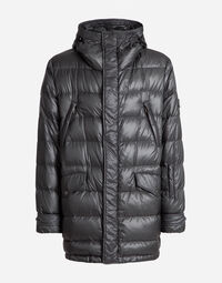 NYLON DOWN JACKET WITH HOOD