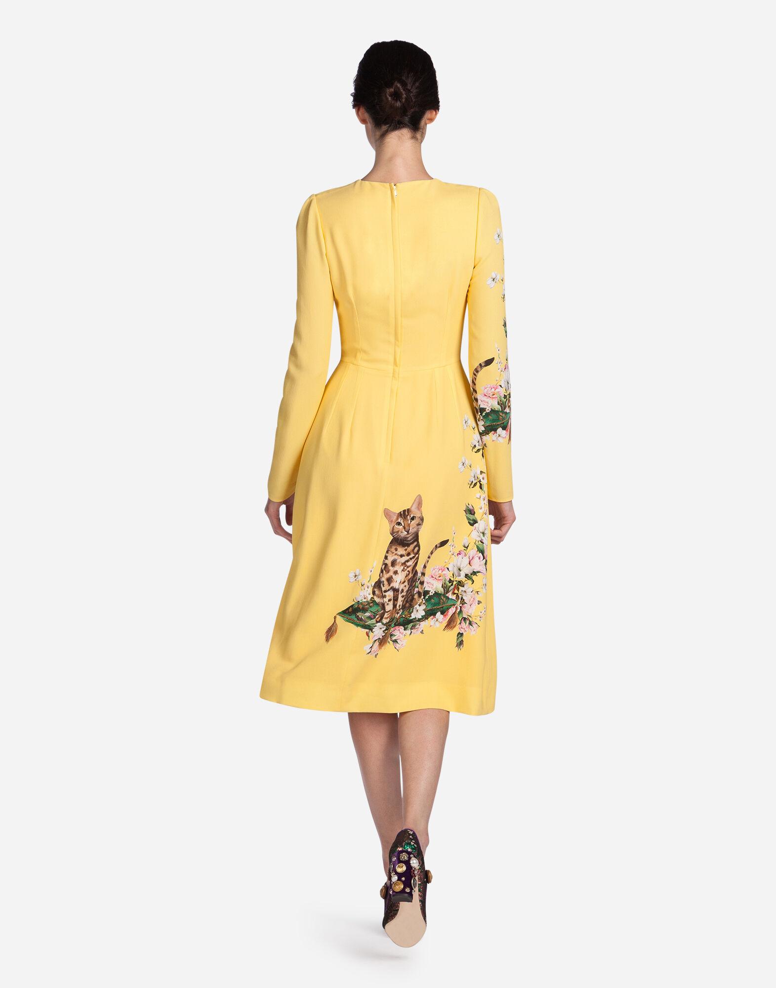 PRINTED CADY DRESS