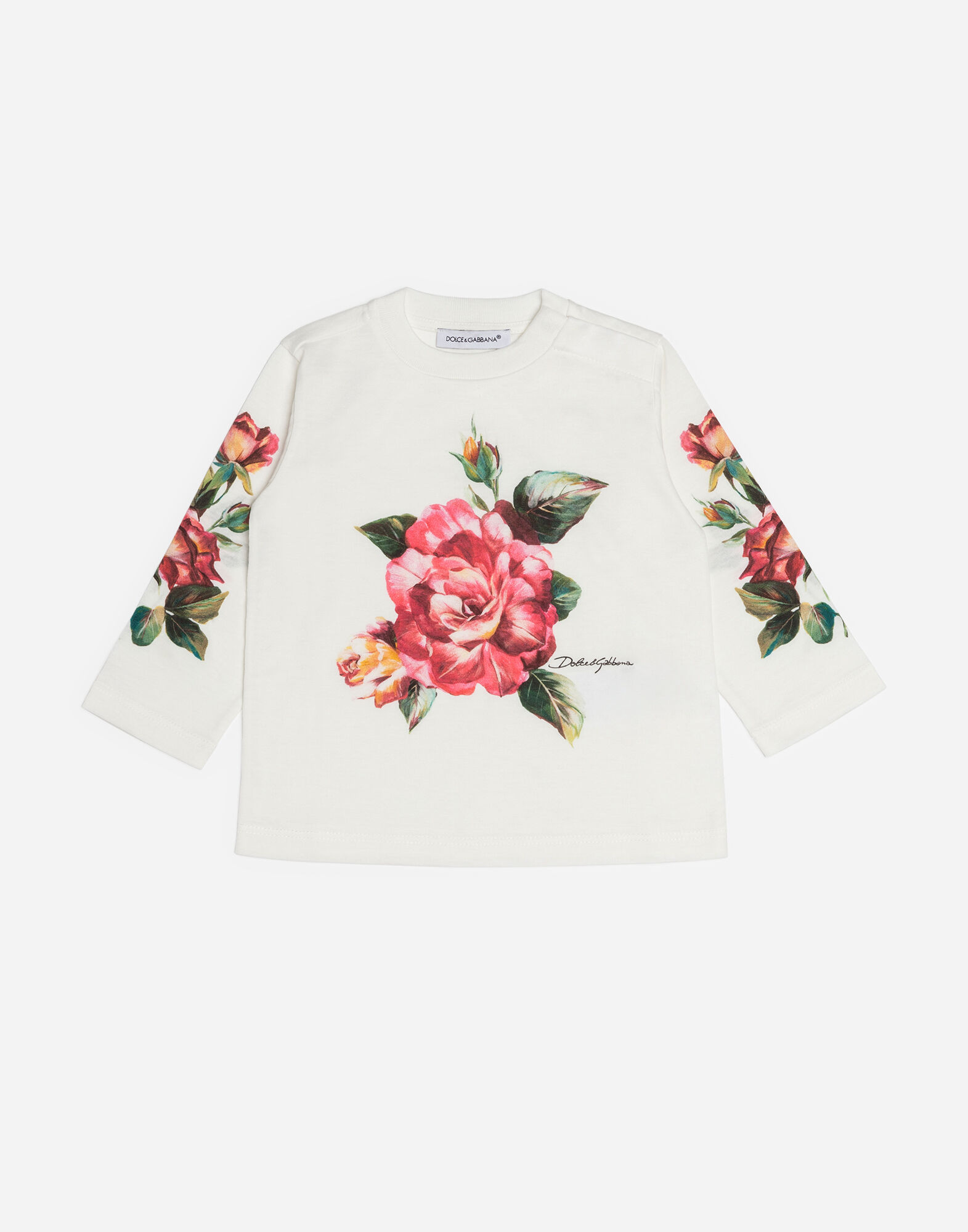 Dolce&Gabbana PRINTED COTTON T-SHIRT