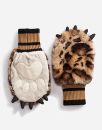FAUX FUR GLOVES