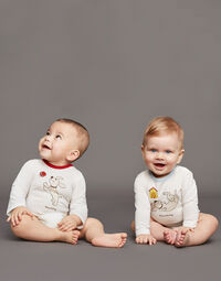 SET OF THREE PRINTED BABYGROWS