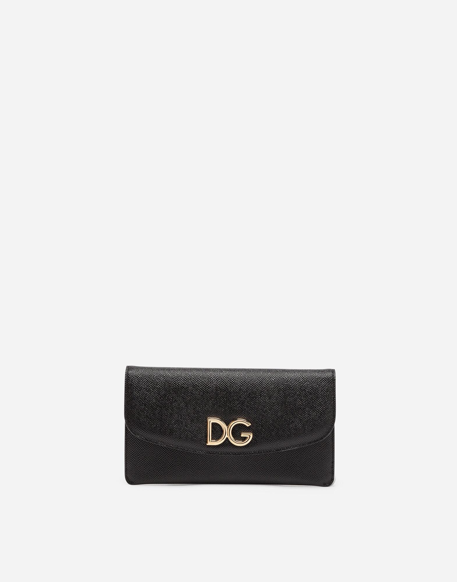 Dauphine wallet bag - Grey Dolce & Gabbana 9kYo9lAITv