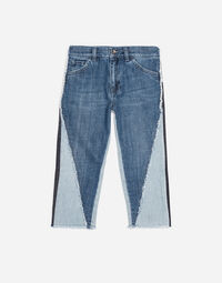 TWO-TONE JEANS