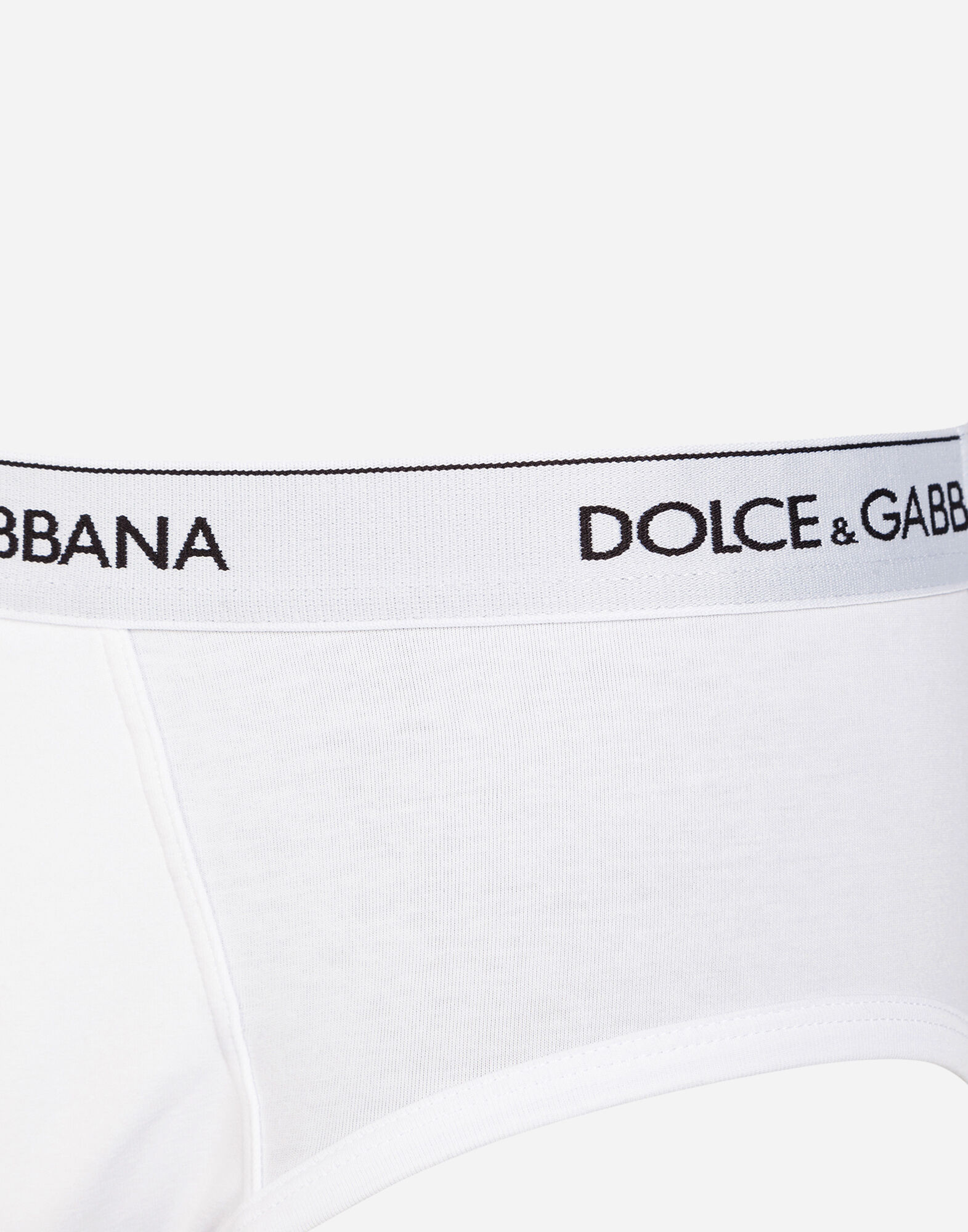 Dolce&Gabbana SET OF 2 COTTON SLIPS