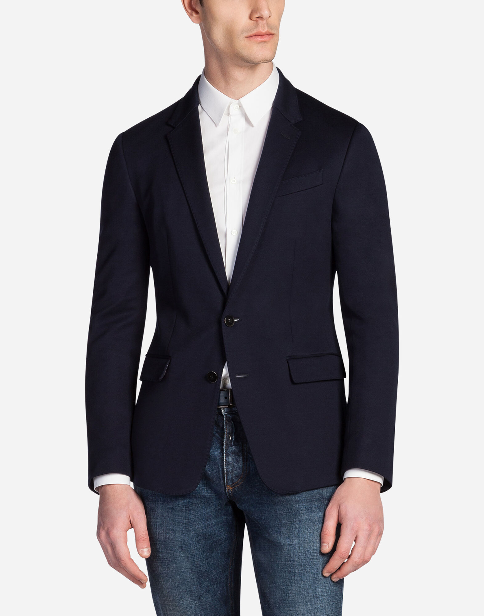 BLAZER IN JERSEY COTTON