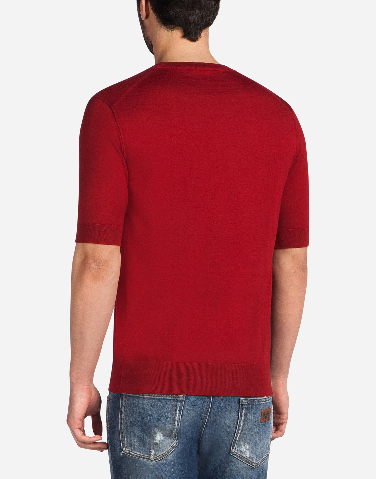 SWEATER IN CASHMERE WITH PATCH