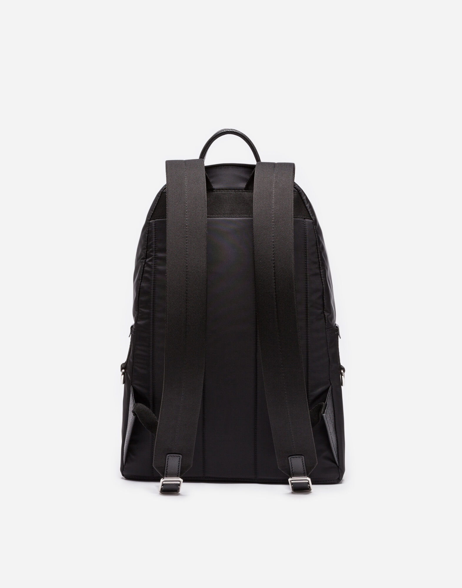 VULCANO BACKPACK IN NYLON WITH DESIGNERS' PATCHES