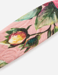 PRINTED BROCADE HEADBAND