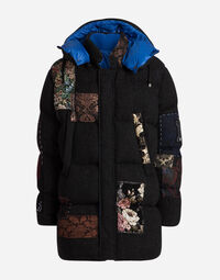 DOWN JACKET WITH PATCH