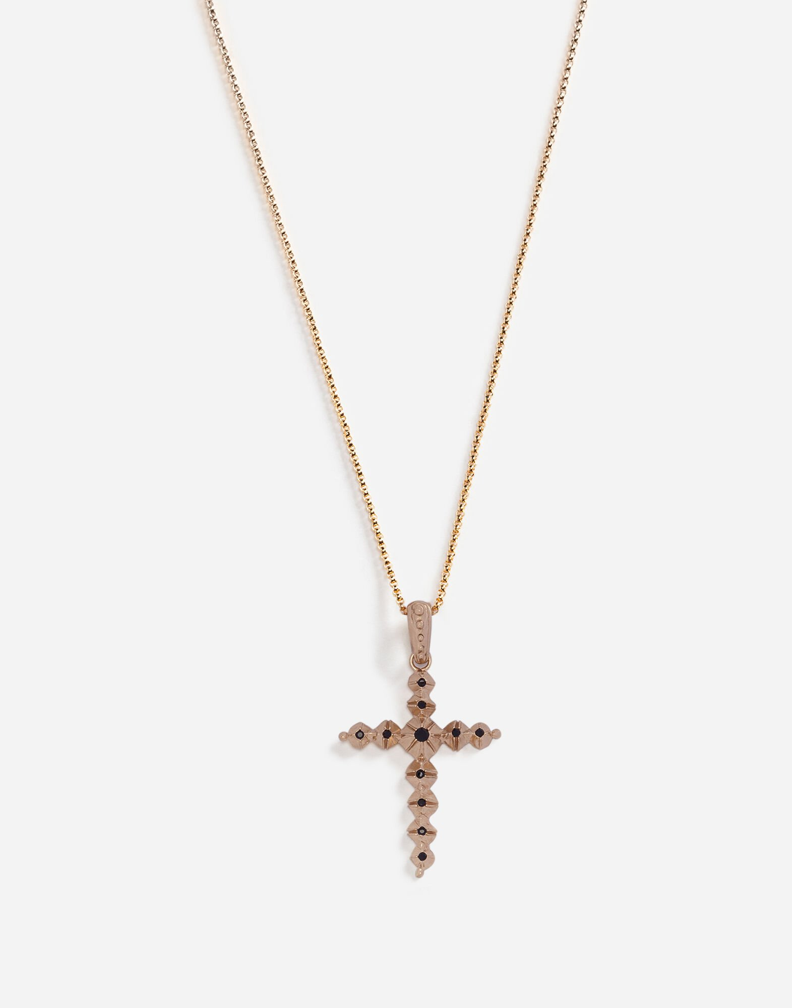 NECKLACE WITH CROSS PENDANT