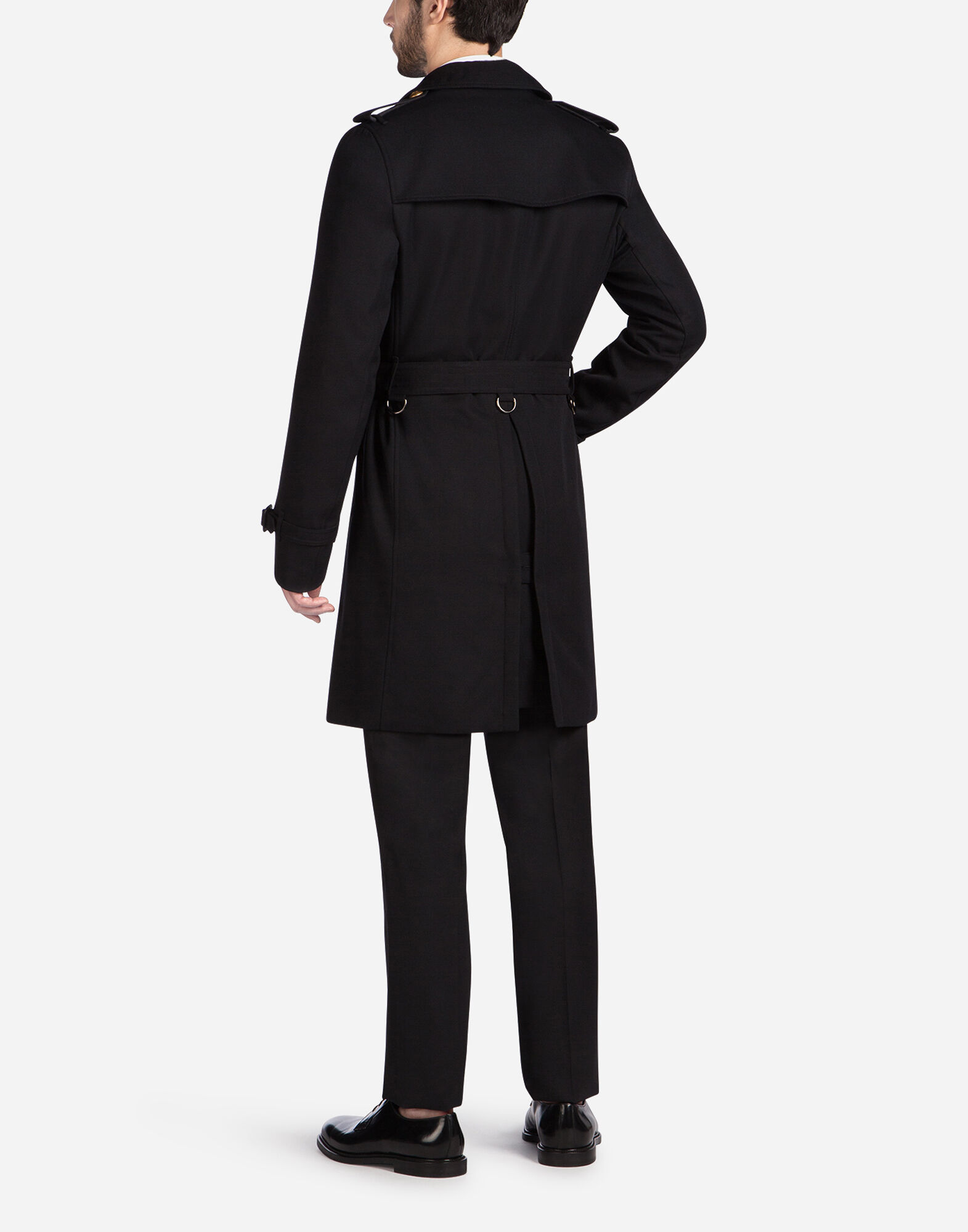 TRENCH COAT IN WOOL