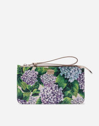 PRINTED DAUPHINE LEATHER BAG