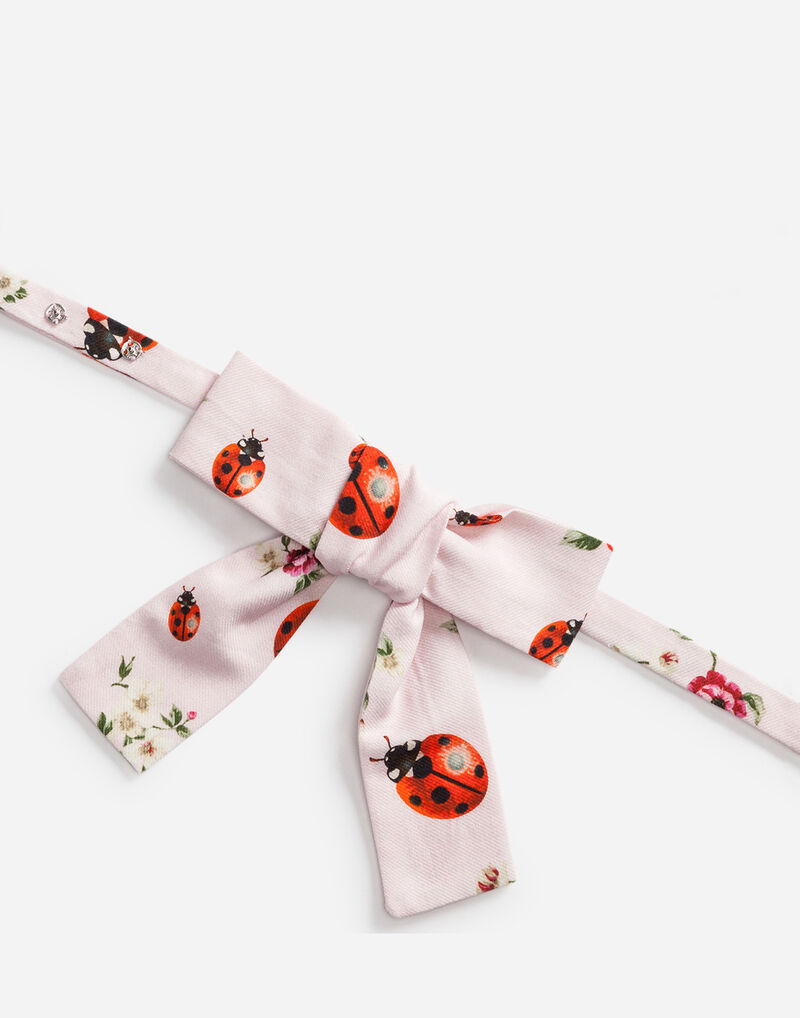 PRINTED FLANNEL BOW TIE