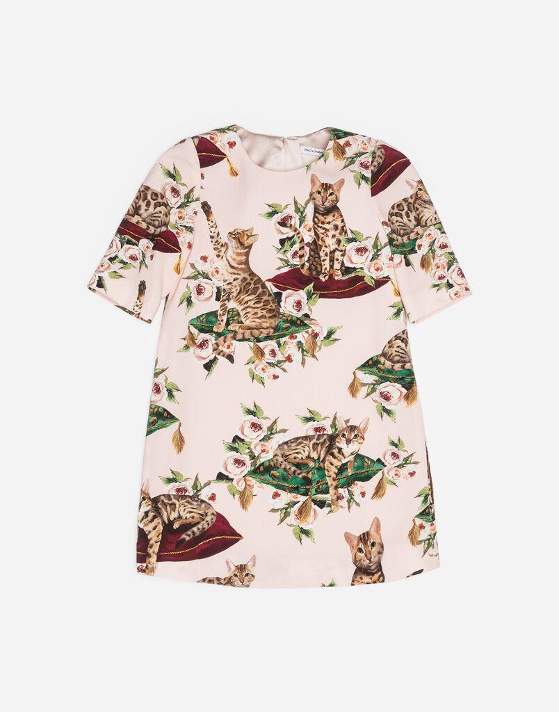 Dolce&Gabbana ZAMBIA-PRINT CADY DRESS