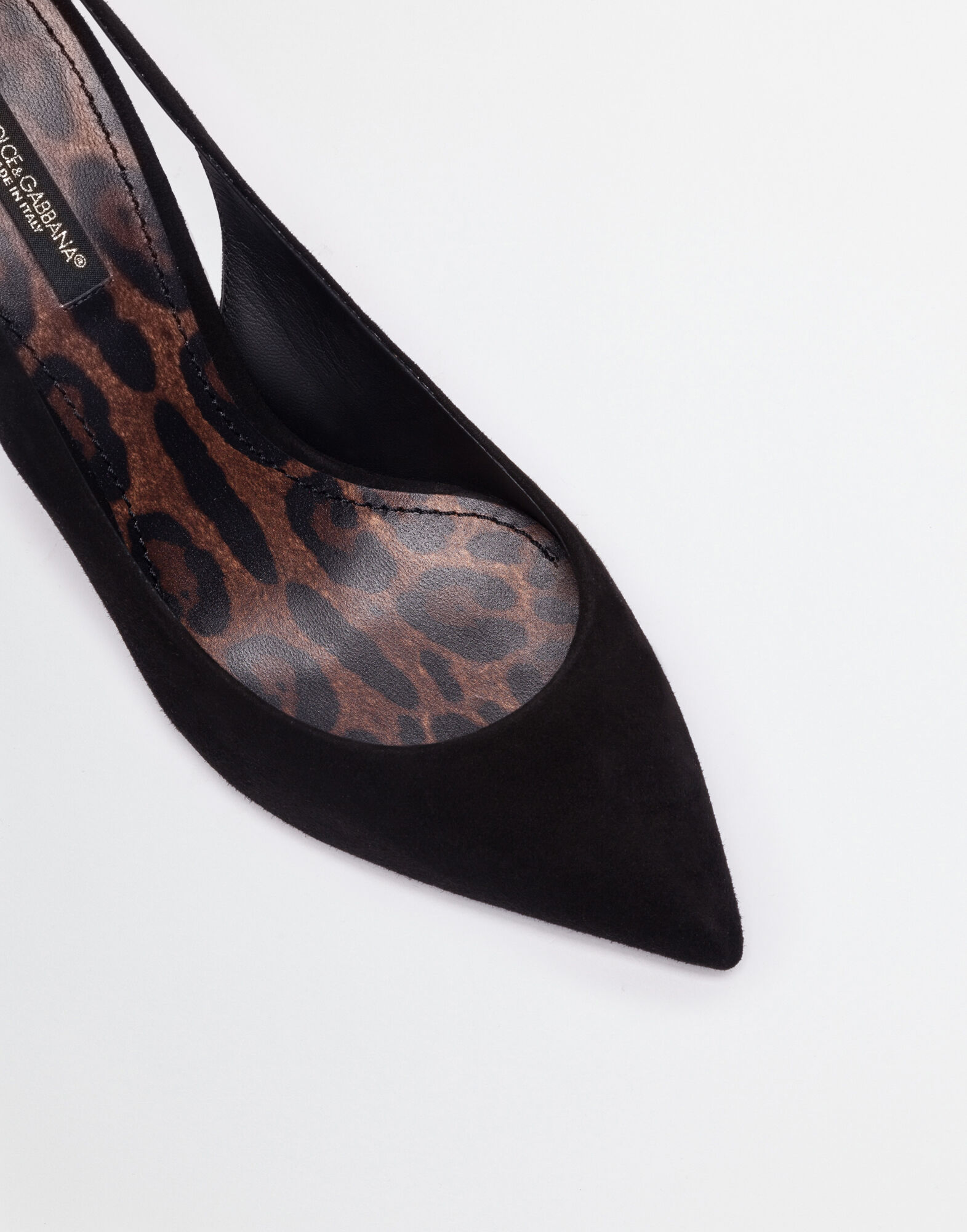 SLINGBACK PUMP IN SUEDE