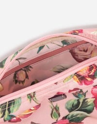 PRINTED NYLON MAKE-UP BAG