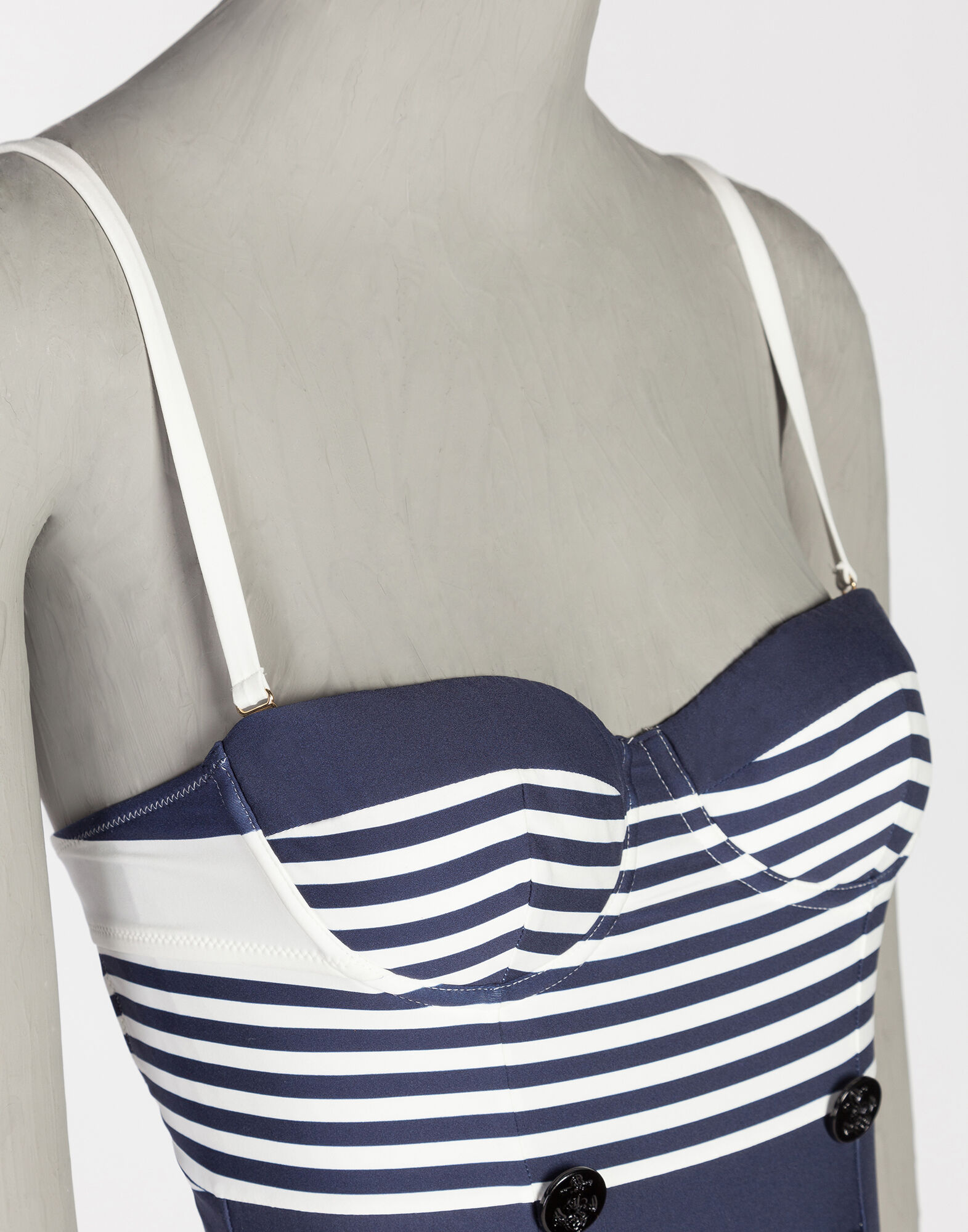 PRINTED PUSH-UP SWIMSUIT