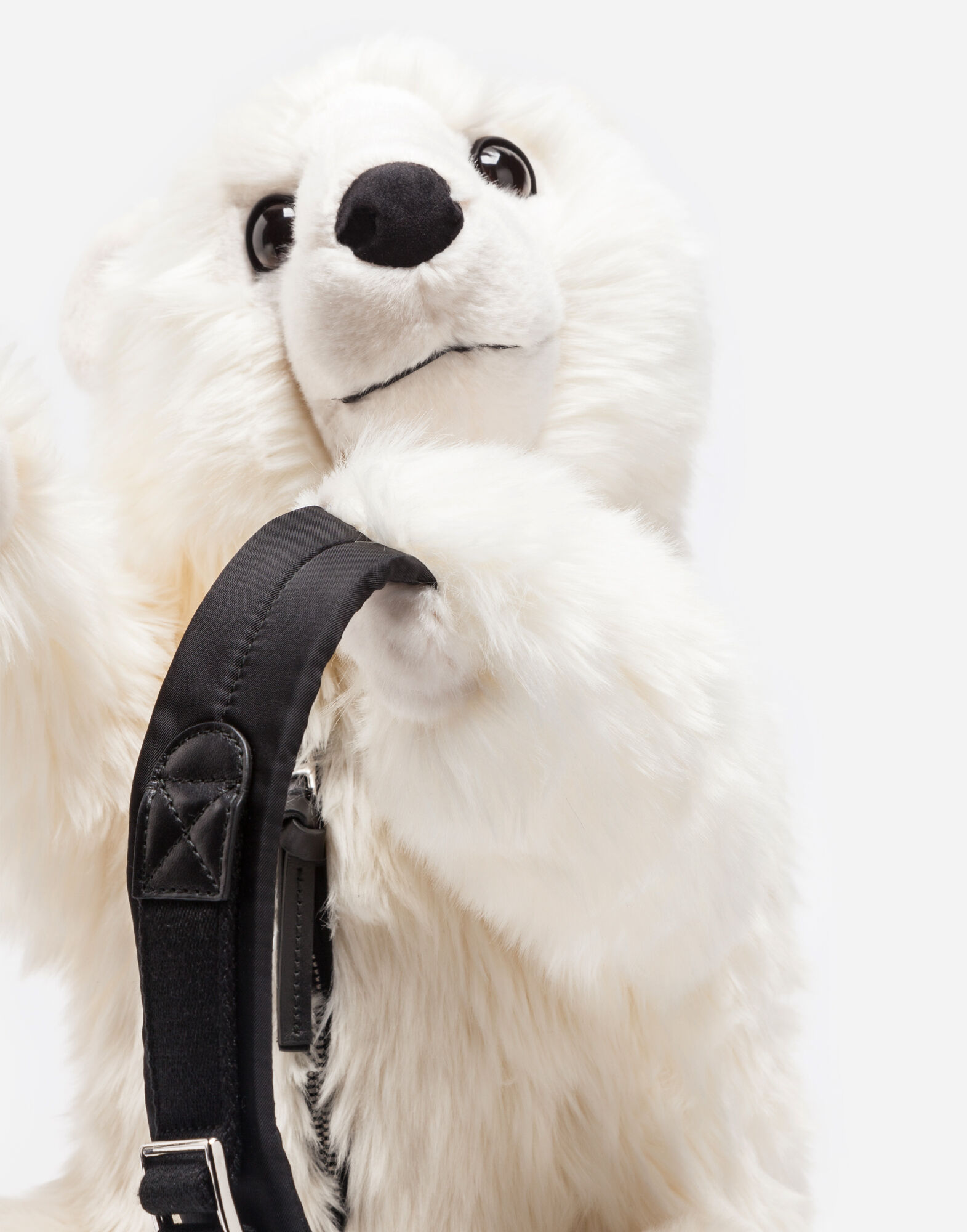 BACKPACK IN FAUX FUR