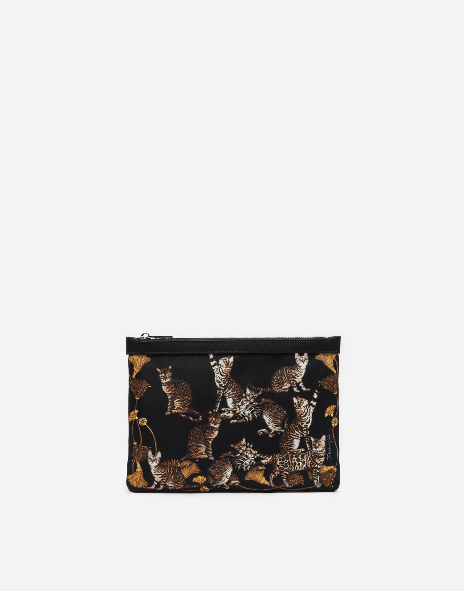 PRINTED NYLON PURSE