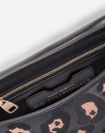 LEATHER DG MILLENNIALS BAG WITH APPLIQUÉ