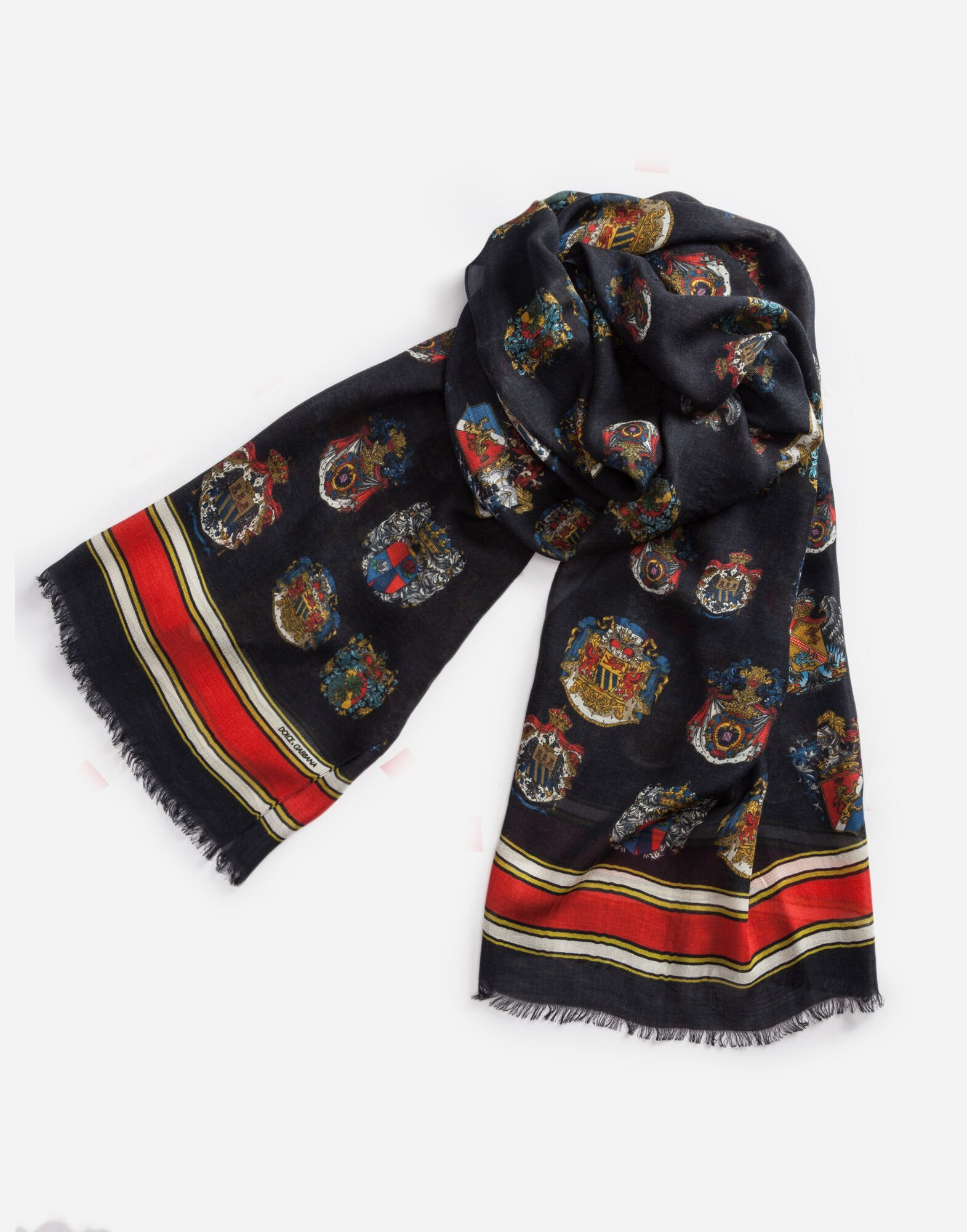 PRINTED CASHMERE/MODAL SCARF