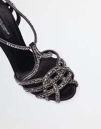 SANDALS WITH JEWEL EMBELLISHMENTS
